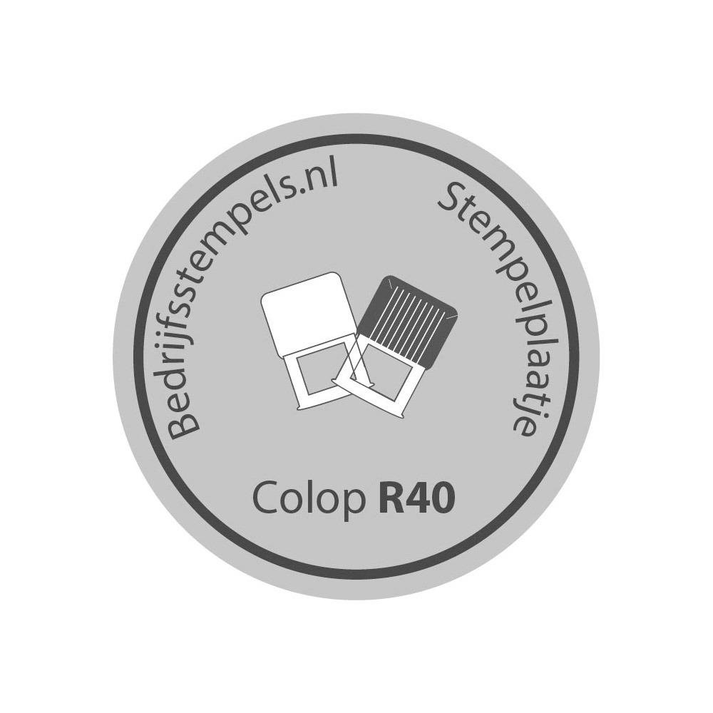 Colop Printer R 50 Datum stempelplaat