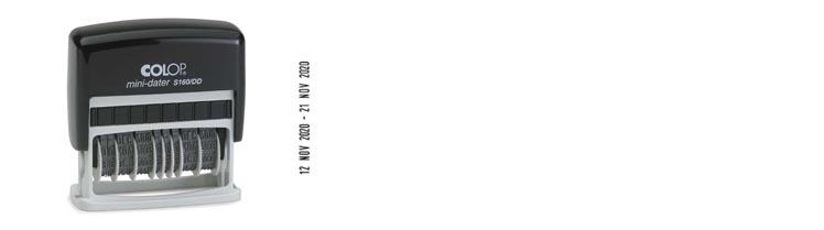 Dubbele datum stempels
