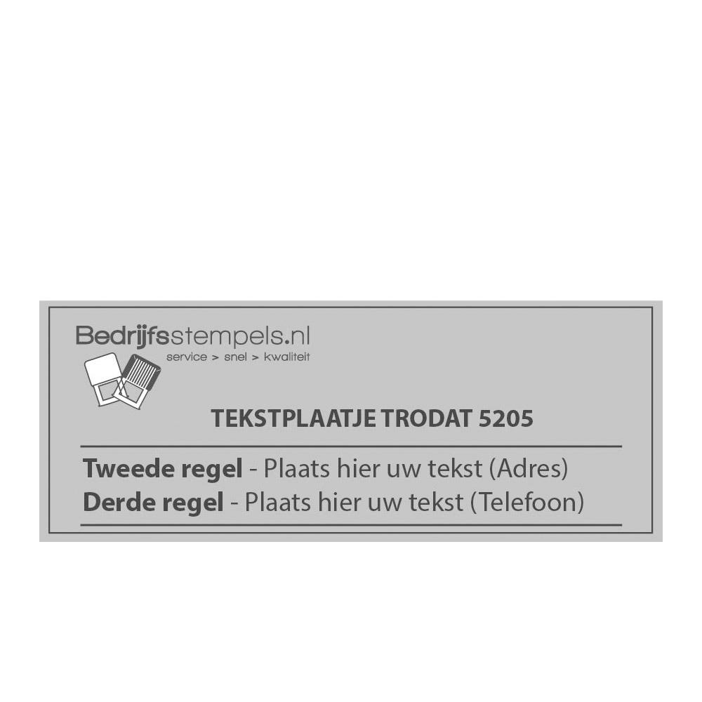 Tekstplaatjes Rechthoekig