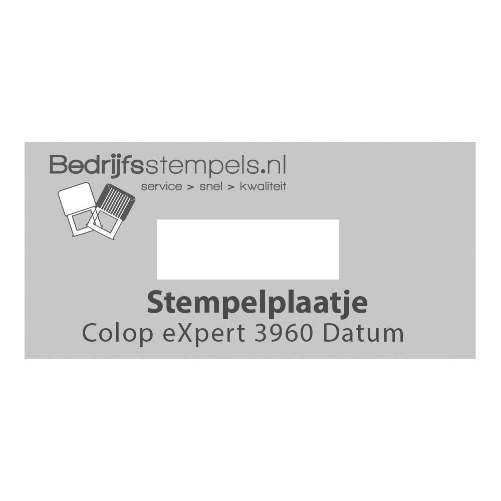 Stempelplaatje Colop eXpert 3960