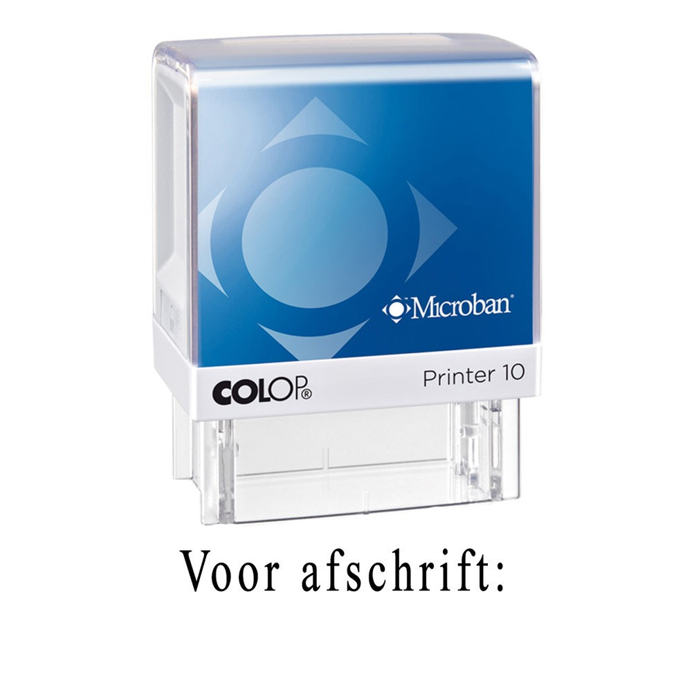Colop Printer 10 Microban deurwaarders stempel