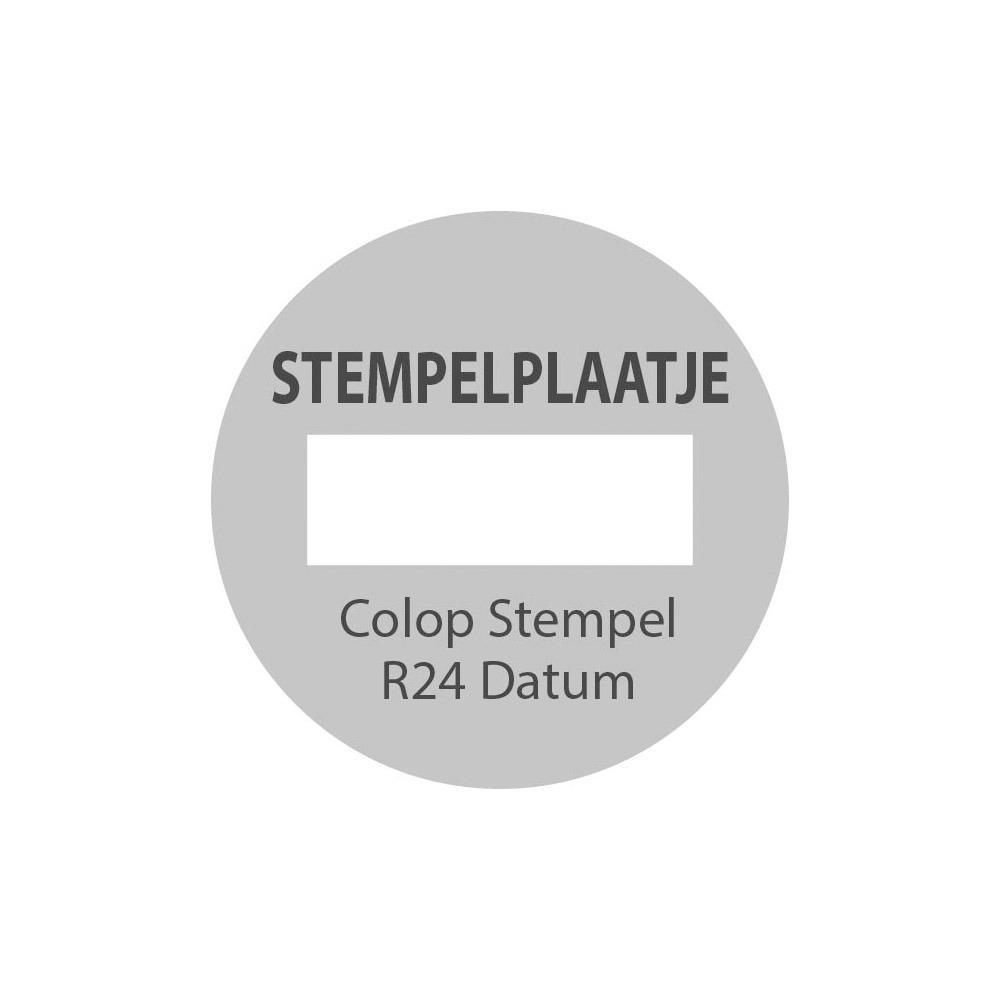 Colop Printer R24 Datum stempelplaat