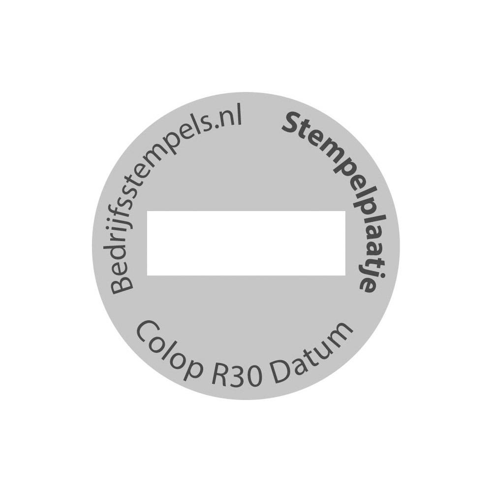 Colop Printer R30 Datum tekstplaatje