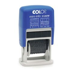 Colop Mini Printer S120 woord stempel