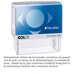 Colop Printer 40 deurwaarders stempel