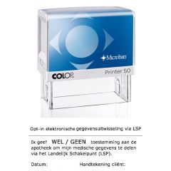 Colop Printer 50 Microban LSP stempel