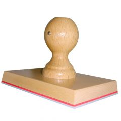 Grote stempel 140 x 100 mm