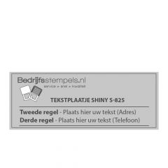 Stempelplaatje Shiny Printer S-825