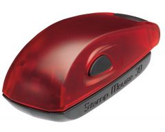 Stamp Mouse 30 montuur rood