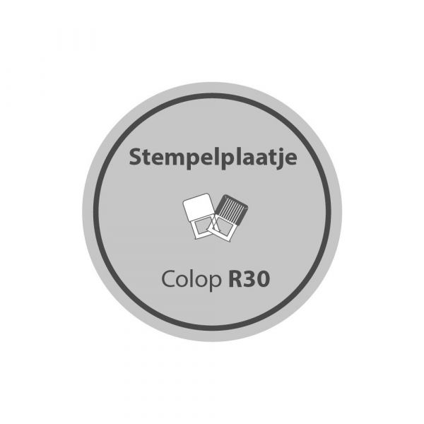 Stempelplaatje Colop Printer R30