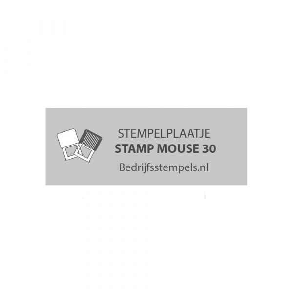 Tekstplaatje Colop Stamp Mouse 30
