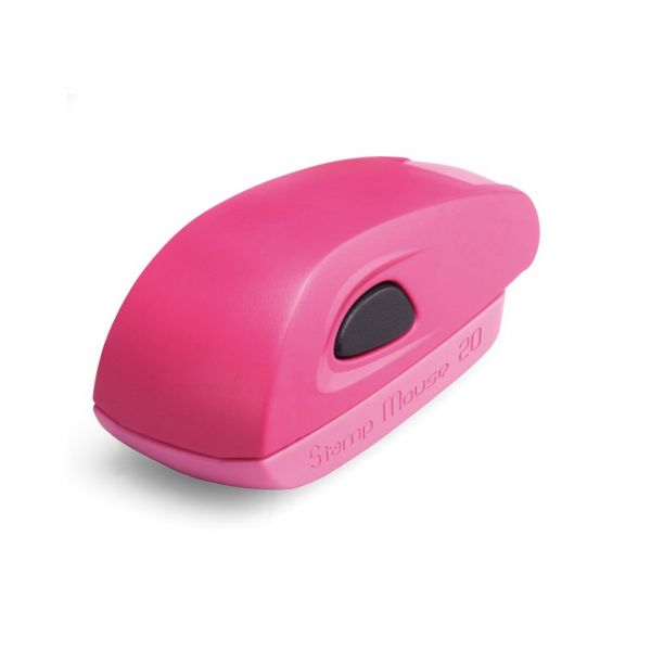 Stamp Mouse 20, montuur pink