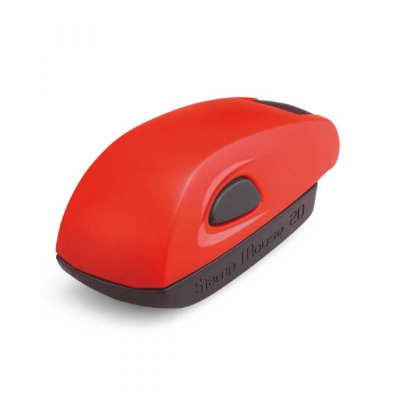 Stamp Mouse 20, montuur rood