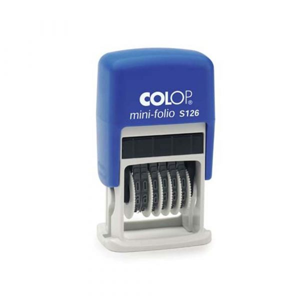 Colop Mini S126 cijferband stempel