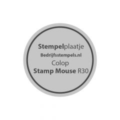 Colop Stamp Mouse R30 stempelplaatje