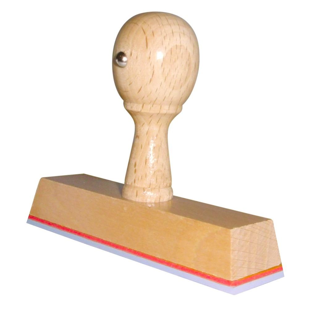 Houten Handstempel 100 x 25 mm