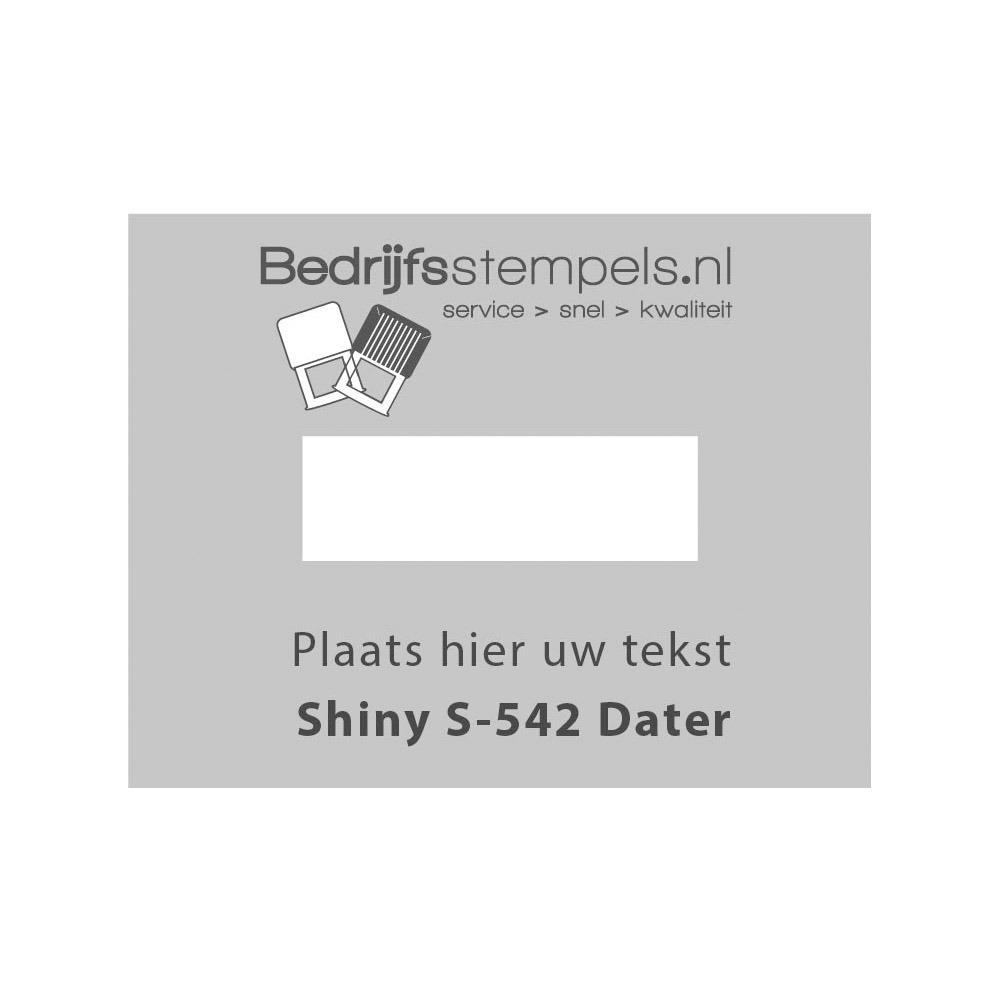 Stempelplaatje Shiny Printer 542 D