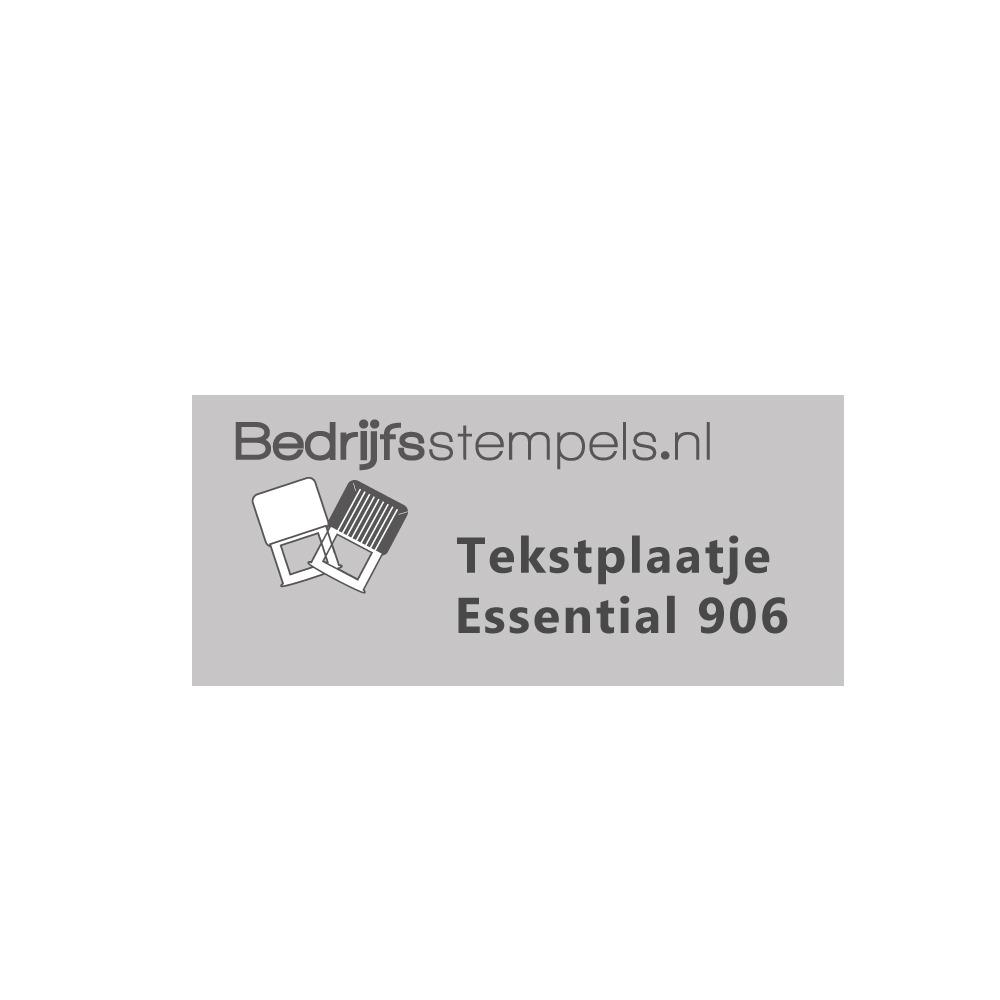 Shiny Essential 906 tekstplaatje