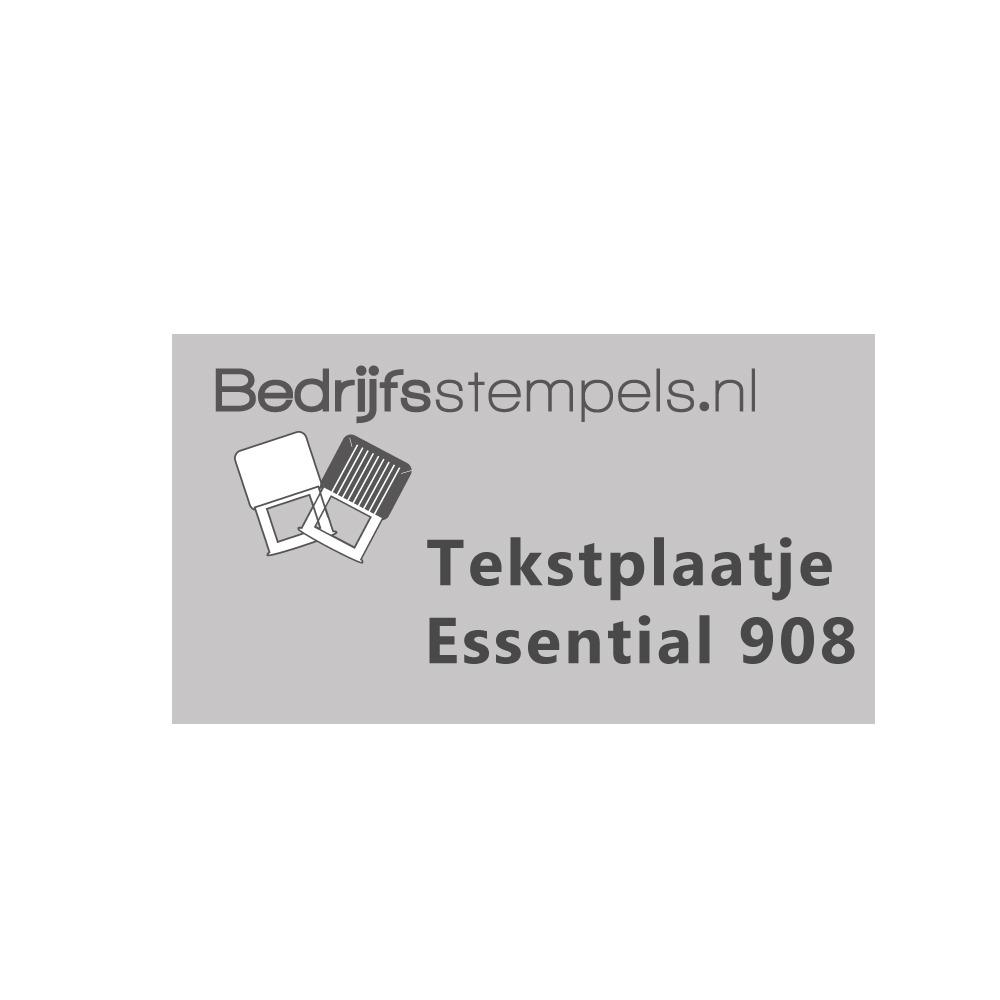 Tekstplaatje Shiny Essential 908