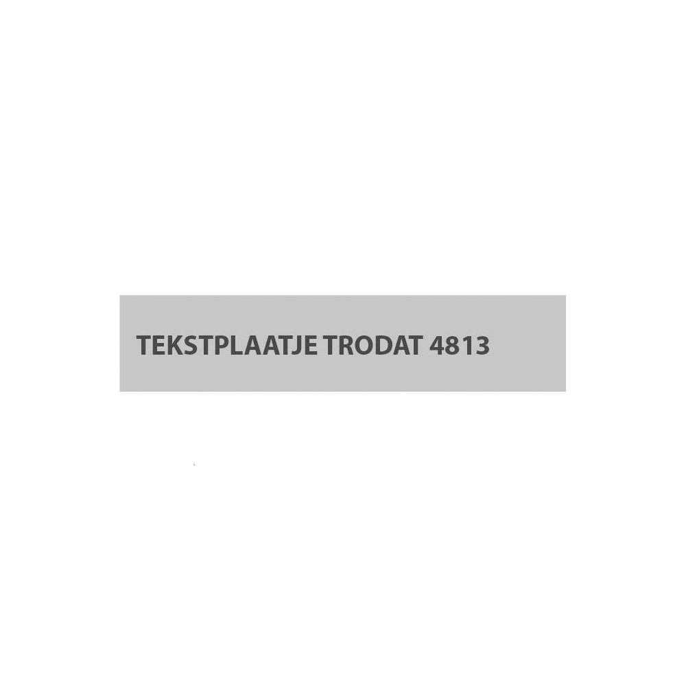 Trodat Printy 4813/D stempelplaatje