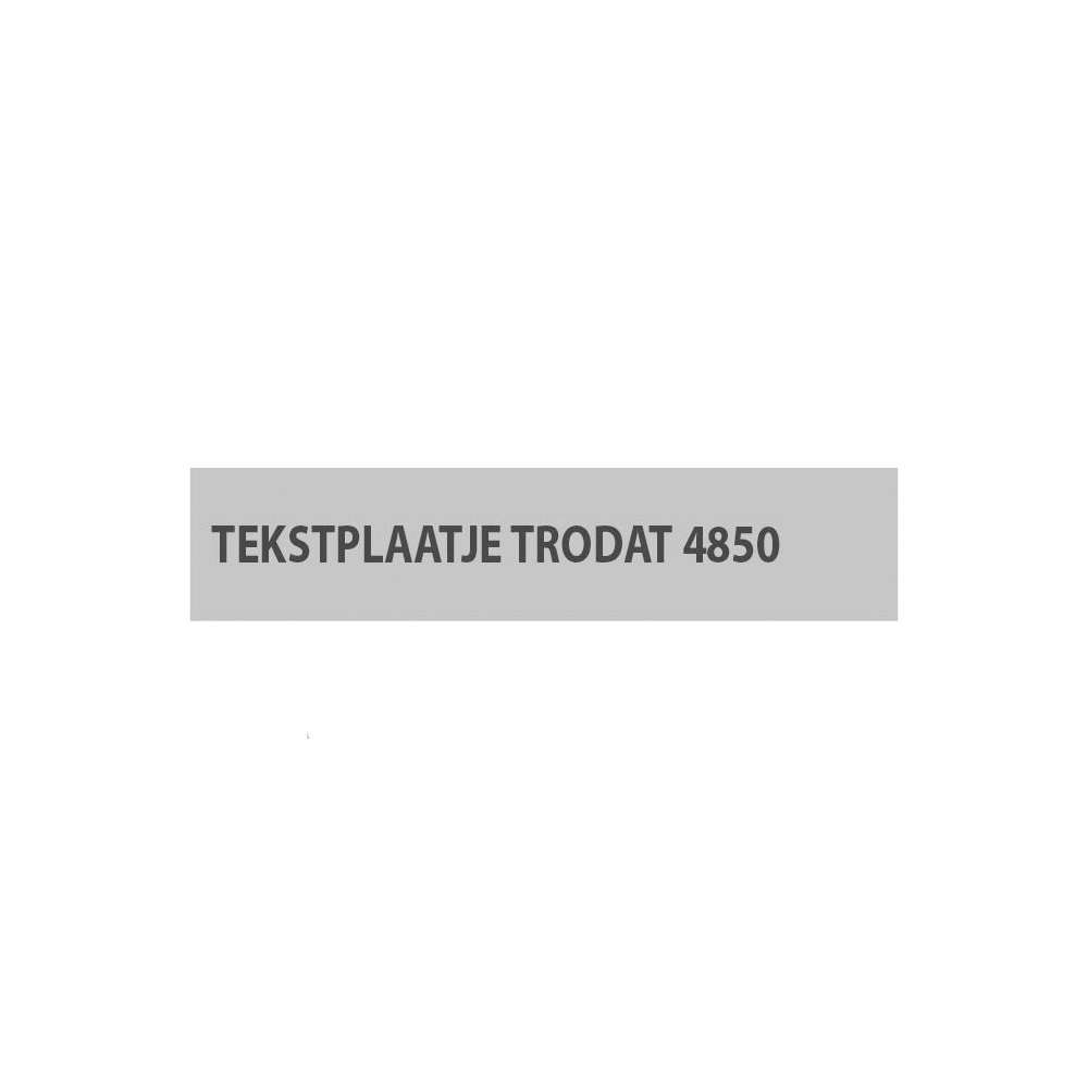 Trodat Printy 4850/D Stempelplaatje